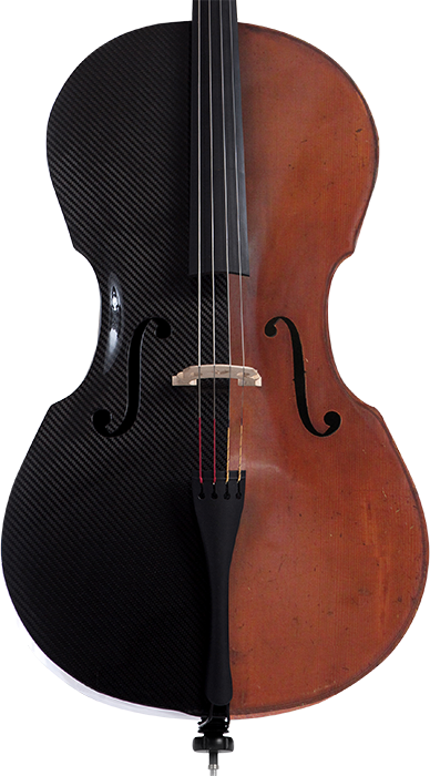 Ricci Cello in Carbon bzw. Holz Optik